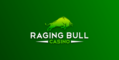 raging bull casino logo