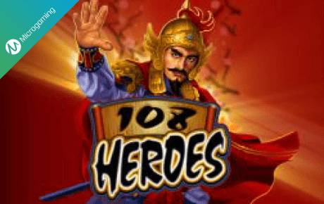 108 heroes spielautomaten - microgaming