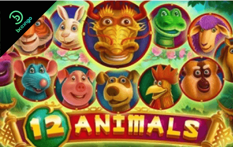 12 animals spielautomat - booongo gaming