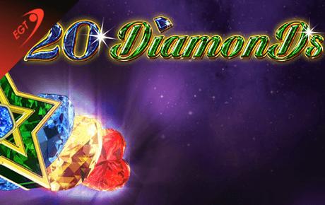 20 diamonds spielautomaten - euro games technology