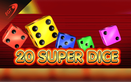 20 super dice spielautomaten - euro games technology