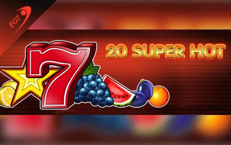 20 super hot slot machine online