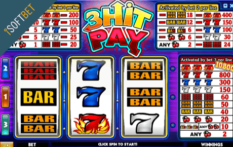 3 hit pay spielautomat - isoftbet