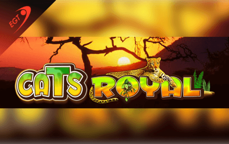 cats royal spielautomat - euro games technology