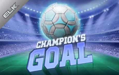 champions goal spielautomat - elk studios