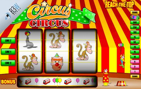 circus circus spielautomat - b3w group