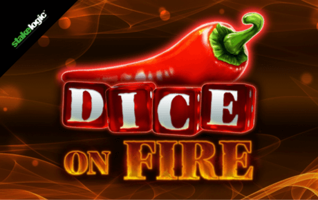 dice on fire spielautomat - stakelogic