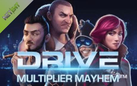 drive multiplier mayhem spielautomat - netent