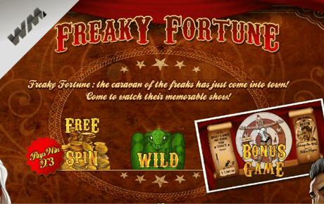 freaky fortune spielautomat - world match