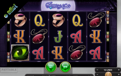 gems of the night spielautomat - edict merkur gaming