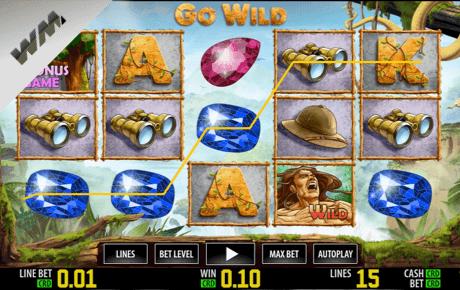 go wild slot machine online
