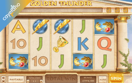 golden thunder spielautomat - cayetano gaming