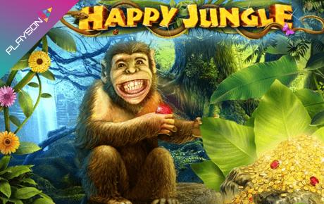 happy jungle spielautomat - playson