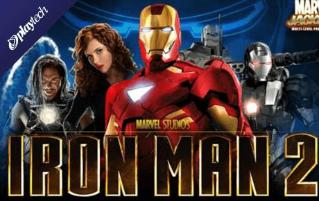 iron man 2 50 lines spielautomat - playtech