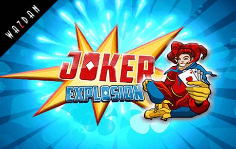 joker explosion spielautomat - wazdan