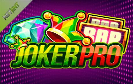 joker pro spielautomaten - netent