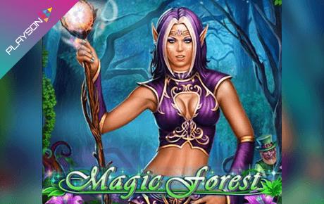 magic forest spielautomat - playson