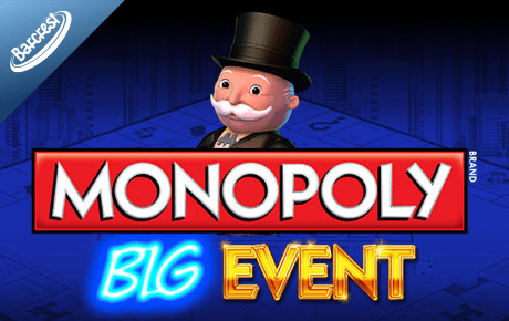 monopoly big event spielautomat - barcrest games