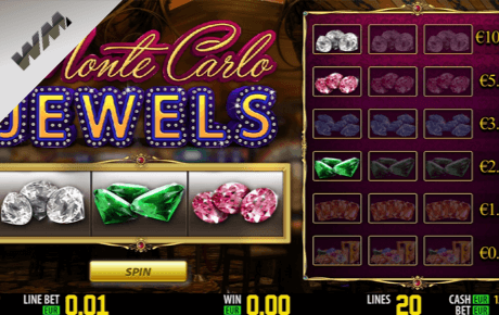 monte carlo jewels spielautomat - world match