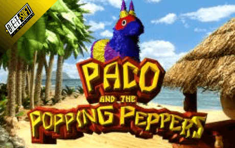 paco and the popping peppers spielautomat - betsoft