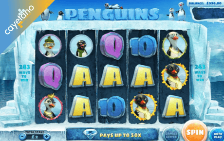 penguins spielautomat - cayetano gaming