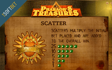 pharaohs treasure spielautomat - isoftbet