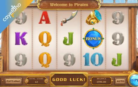 pirates spielautomat - cayetano gaming