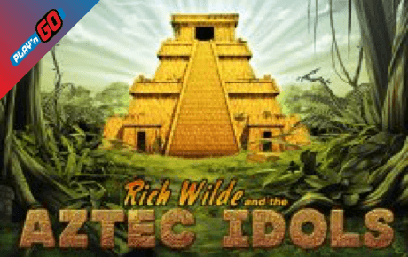 rich wilde and the aztec idols spielautomat - playn go