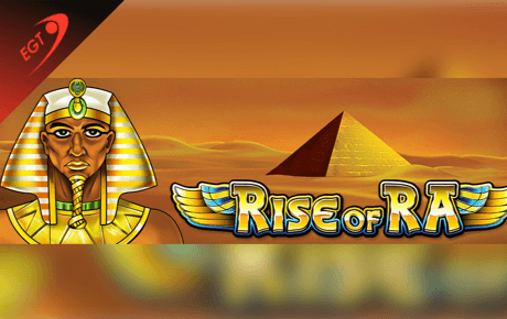 rise of ra spielautomat - euro games technology