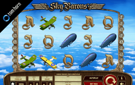 sky barons spielautomat - tom horn gaming