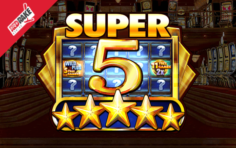 super 5 stars spielautomat - red rake gaming