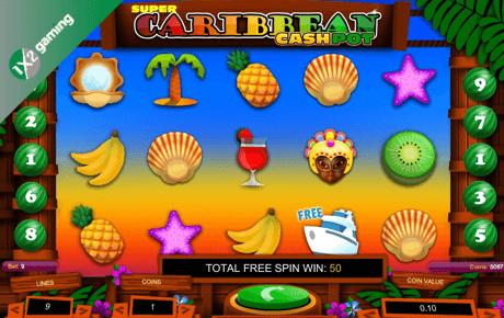 super caribbean cashpot spielautomat - 1x2gaming