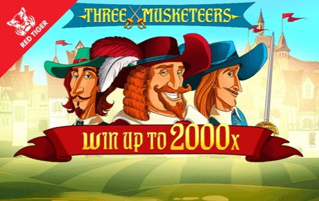 three musketeers spielautomat - red tiger gaming