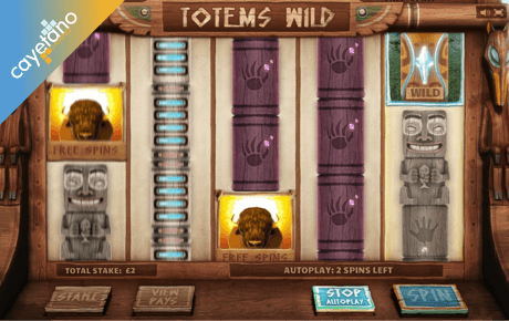 totems wild spielautomat - cayetano gaming