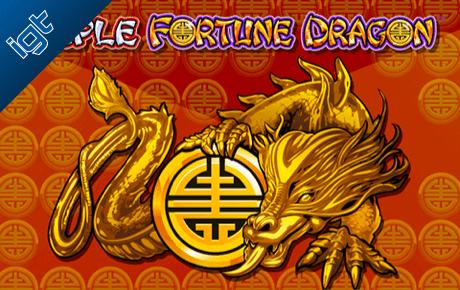 triple fortune dragon spielautomat - igt wagerworks