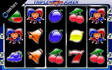 triple joker spielautomat - tom horn gaming