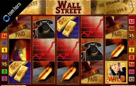 wall street spielautomat - tom horn gaming