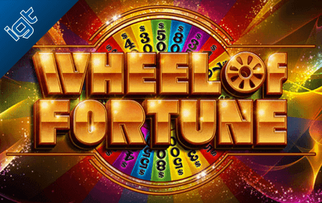 wheel of fortune spielautomat - igt wagerworks