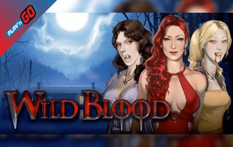 wild blood spielautomat - playn go