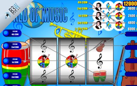world of music spielautomat - b3w group