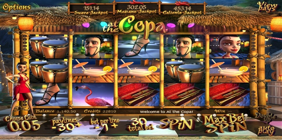 at the copa spielautomat - betsoft
