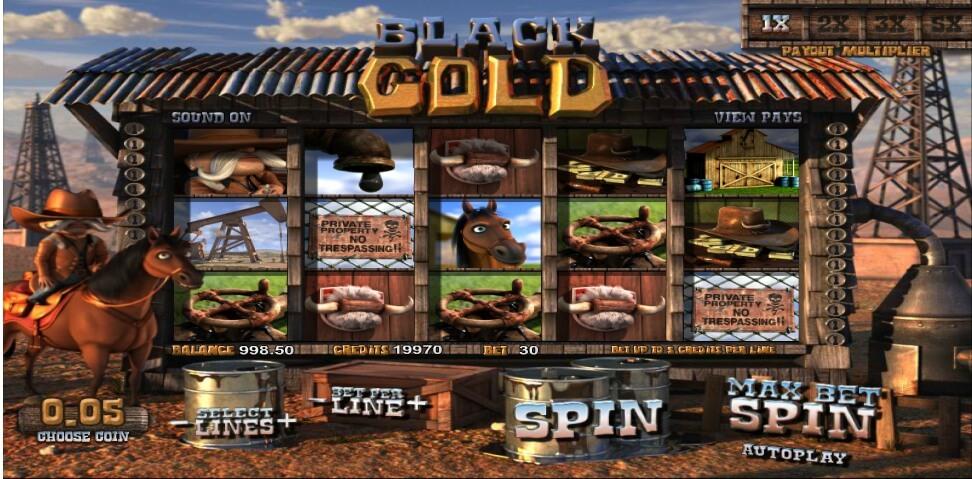 black gold spielautomat - betsoft