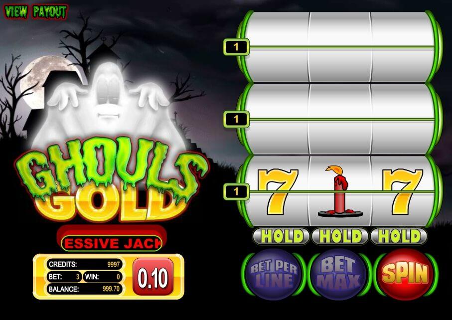 ghouls gold spielautomat - betsoft