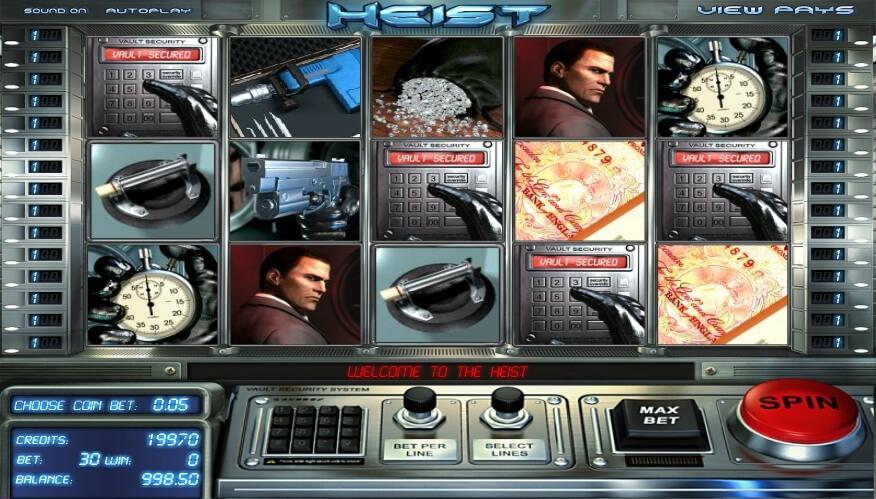 heist spielautomat - betsoft