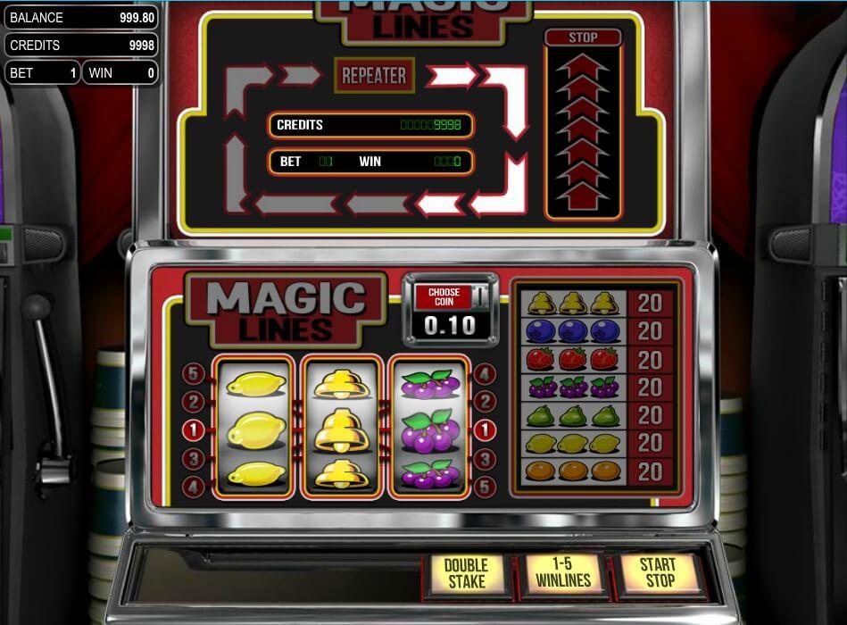 magic lines spielautomat - betsoft