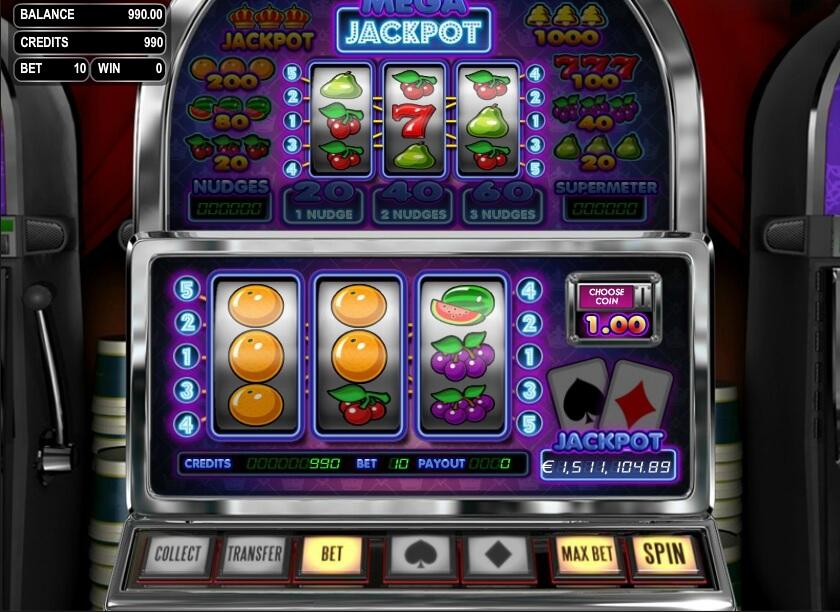 mega jackpot spielautomat - betsoft