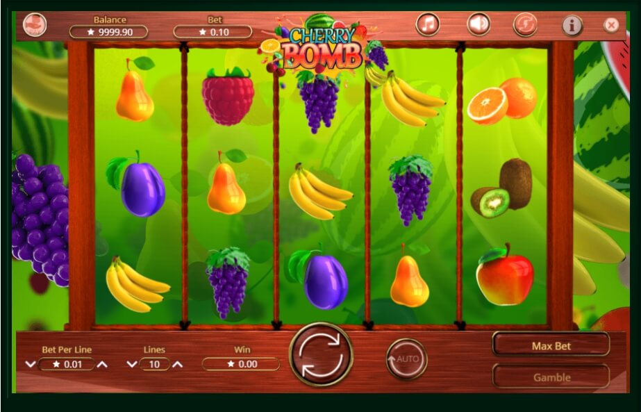 cherry bomb spielautomat - booming games