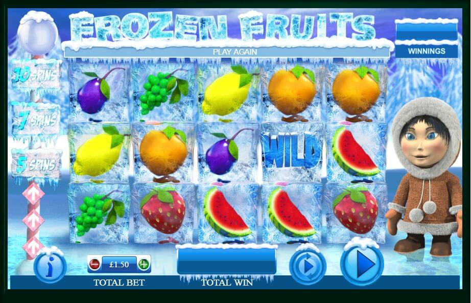 frozen fruits spielautomat - games warehouse
