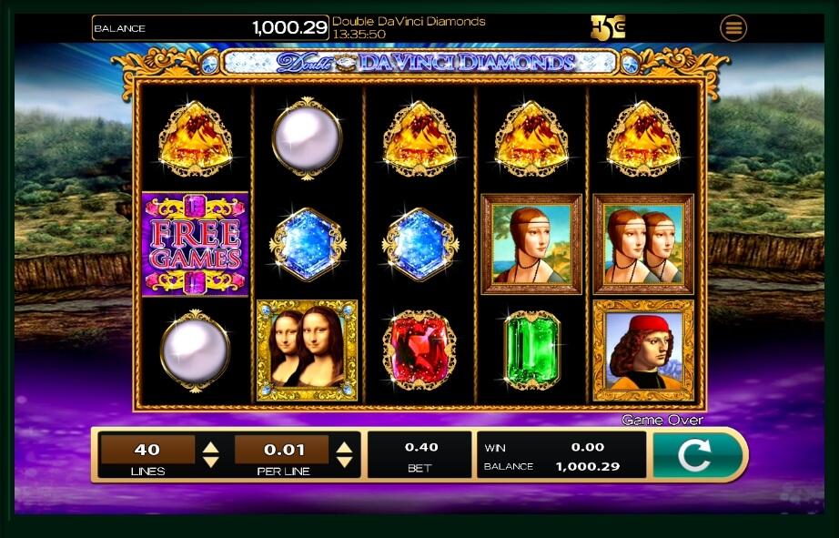 double da vinci diamonds spielautomat - high5games