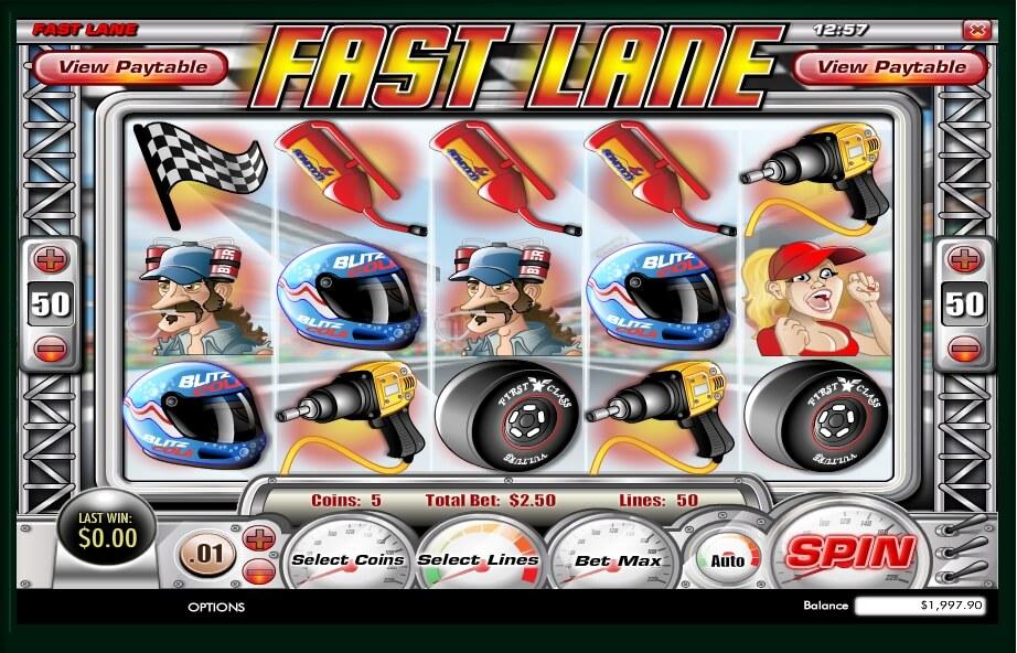 fast lane spielautomat - rival